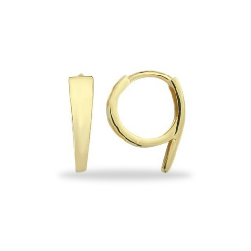 14 Ayar Çizgi küpe Modeli
