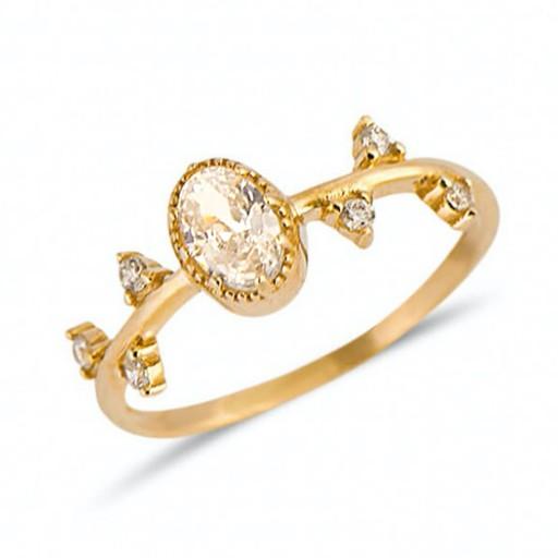 İzlanda Evlilik Yüzüğü Modeli 14 Ayar Altın
