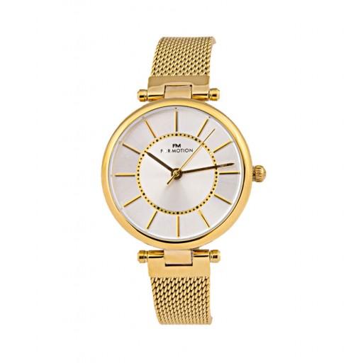 For Motıon Sarı Hasır Kordon Bayan Saatı