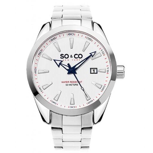 So&Co Newyork 5039b.3 Çelik Kordon Erkek Saati