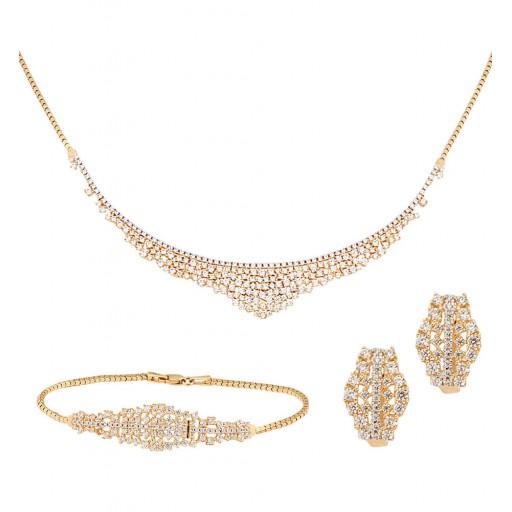14 Ayar Altın Kleopatra Set